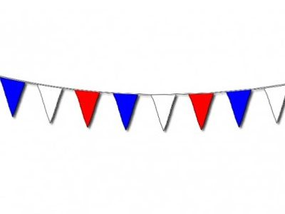 105' Pennant - Red, White & Blue | HICO